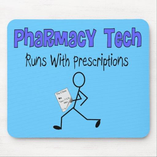 Las camisetas de las prescripciones de la tecnolog alfombrilla de raton