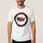 Las camisetas de los hombres alemanes de las bande playera