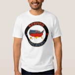 Las camisetas de los hombres alemanes de las playera