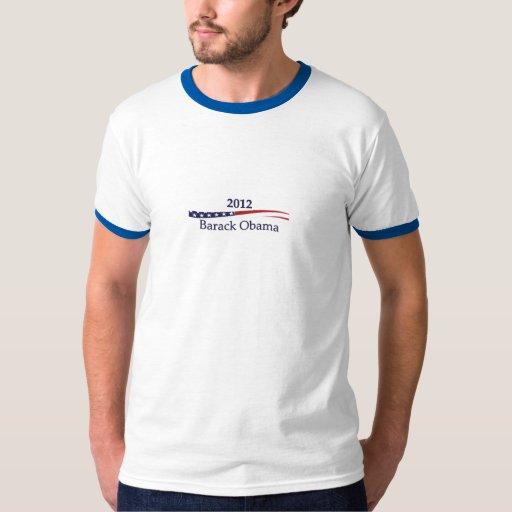 Las camisetas de los hombres de Barack Obama