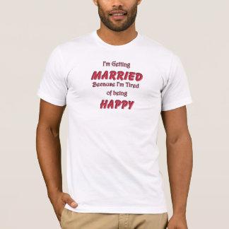 Las camisetas de los hombres de despedida de