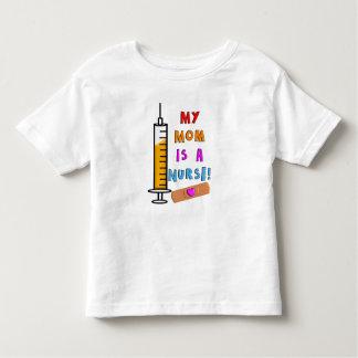 Las camisetas de los niños de la enfermera mi mamá polera
