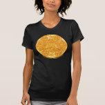 Las camisetas del arte de las mujeres espirales