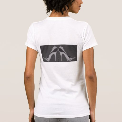 Las camisetas del estilete de neón de plata