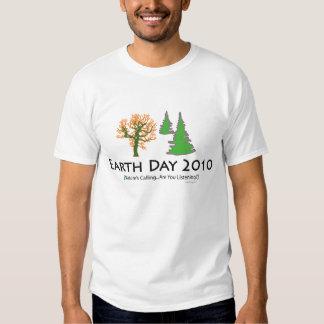 las camisetas del niño del Día de la Tierra 2010 Remera
