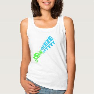 Las camisetas sin mangas de las mujeres del rayo