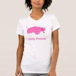Las camisetas sin mangas de las mujeres rosadas