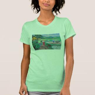 Las camisetas sin mangas pesadas de las mujeres