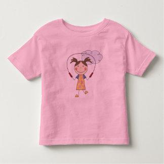 Las camisetas y los regalos de la cuerda de salto playera de niño