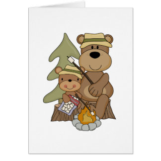 Las camisetas y los regalos de la hoguera tarjeta de felicitación