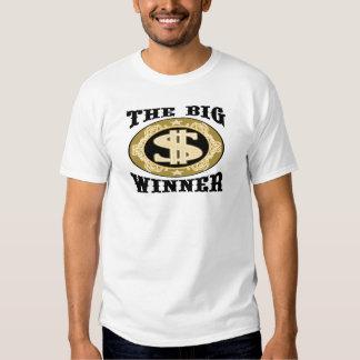 Las camisetas y los regalos grandes del ganador polera