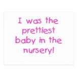 Las camisetas y los regalos más bonitos del bebé tarjeta postal