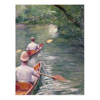 Las canoas, 1878 postales