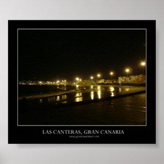 Las Canteras, Gran Canaria Póster