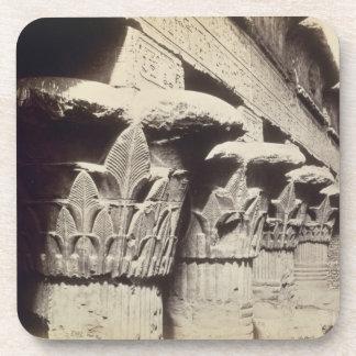 Las capitales del pórtico, templo de Khnum, Esna Posavasos De Bebida