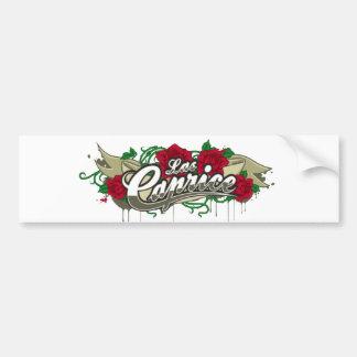 "Las Caprice ""Logo"" Bumber Sticker Car Bumper Sticker"