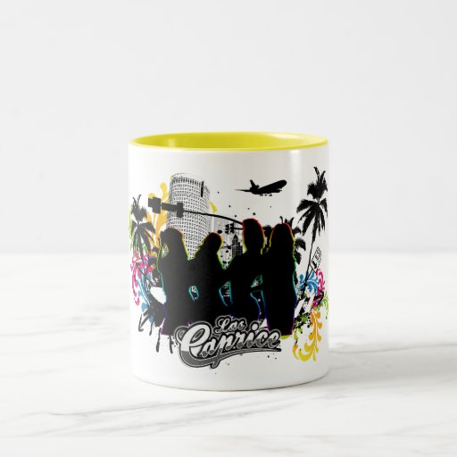 """Las Caprice """"Miami Shadows"""" Mug"""