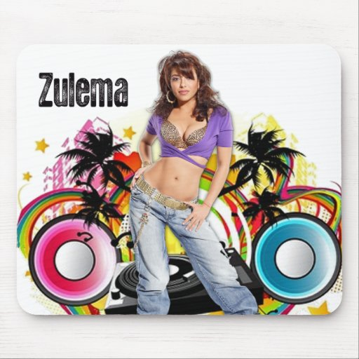 "Las Caprice ""Zulema"" Mouspad Mouse Mat"