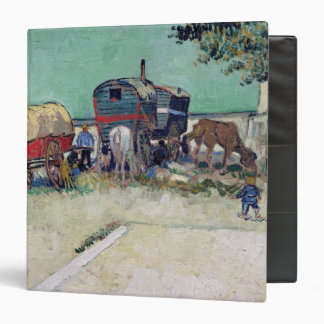 Las caravanas, acampamento gitano cerca de Arles,