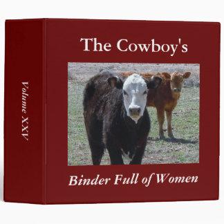 Las carpetas del vaquero por completo de mujeres