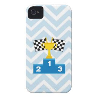 Las carreras de coches F1 señalan el trofeo y la Carcasa Para iPhone 4