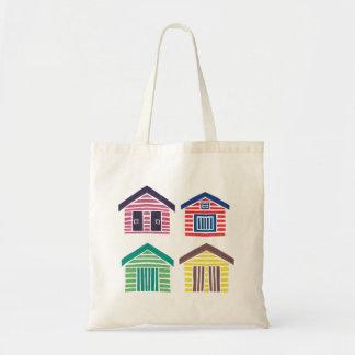 Las casas de playa coloridas