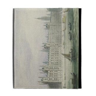 Las casas del parlamento (grafito, pluma y tinta y