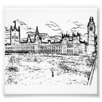 Las casas del parlamento, Westminster, Londres Fotografía