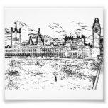 Las casas del parlamento, Westminster, Londres Impresion Fotografica