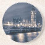 Las casas del parlamento, Westminster Londres Posavasos Manualidades
