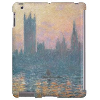 Las casas del Parliament, Sunset, 1903 Funda Para iPad