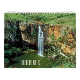Las cascadas hacen calendarios 2015
