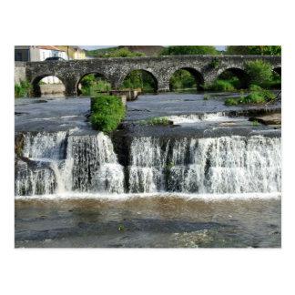 Las cascadas postales de Clare Irlanda