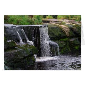 Las cascadas, tarjetas de Clare, Irlanda