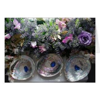Las cáscaras y las flores - gracias cardar felicitación