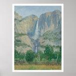 Las cataratas de Yosemite (1155) Póster
