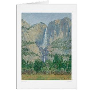 Las cataratas de Yosemite (1155) Tarjeta De Felicitación