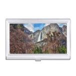 Las cataratas de Yosemite Caja De Tarjetas De Presentación