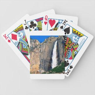 Las cataratas de Yosemite Barajas De Cartas
