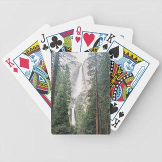 Las cataratas de Yosemite Baraja Cartas De Poker