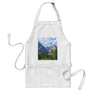 Las cataratas de Yosemite Delantal
