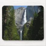 Las cataratas de Yosemite II Mousepad Tapetes De Raton