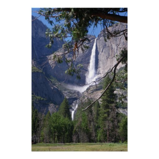 Las cataratas de Yosemite Impresiones
