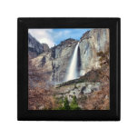 Las cataratas de Yosemite Joyero Cuadrado Pequeño