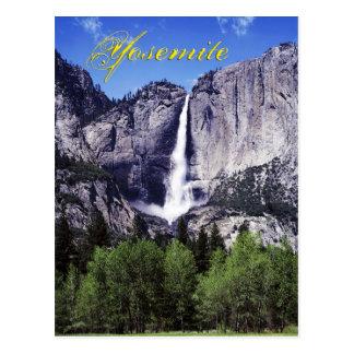 Las cataratas de Yosemite, parque nacional de Tarjetas Postales