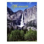 Las cataratas de Yosemite, parque nacional de Yose Tarjetas Postales