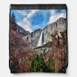 Las cataratas de Yosemite Mochila