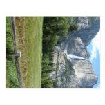Las cataratas de Yosemite Postal
