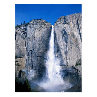 Las cataratas de Yosemite superiores, California, Tarjetas Postales