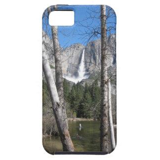 Las cataratas de Yosemite superiores iPhone 5 Carcasas